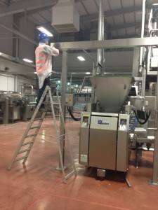 Installing smoke control system in Allied Bakeries London