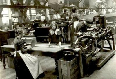Ogdens Factory inside view
